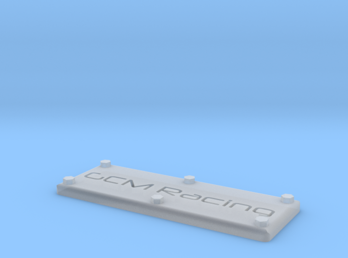 Badge Plate 1/10 GCM Racing 3d printed
