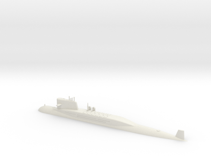 1/700 Type 092 (Xia Class) SSBN (Waterline) 3d printed 1/700 Type 092 (Xia Class) SSBN (Waterline)