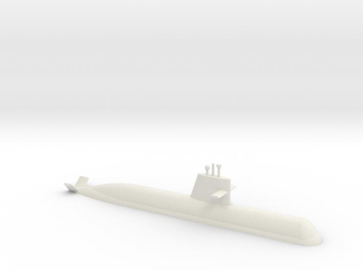1/700 Soryu Class Submarine (Waterline) 3d printed