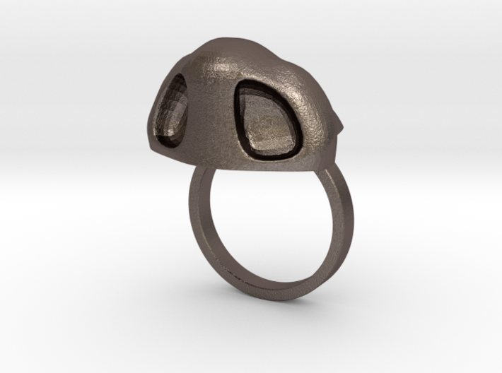 Amazing Zheng3 Nose Ring, Size 6 3d printed