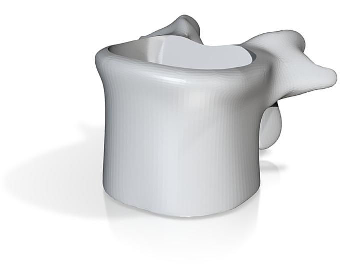 Wervelkoffiekop 3d printed