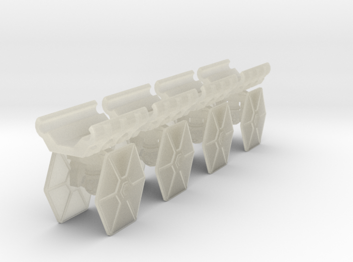 Pulson-A Combat Transport 1-403 HEX Fighter Rack 3d printed