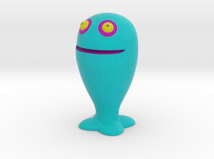Blue ChuChu 3d printed