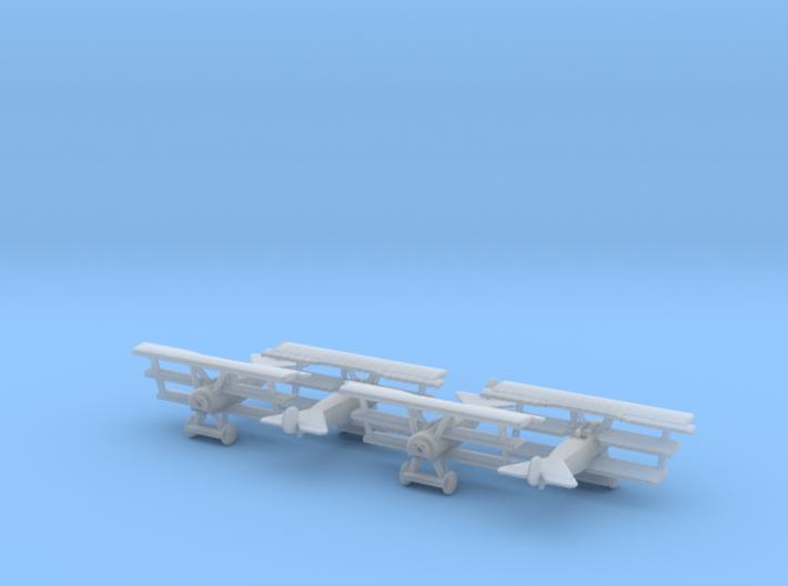 1/350 Fokker Dr.I 3d printed