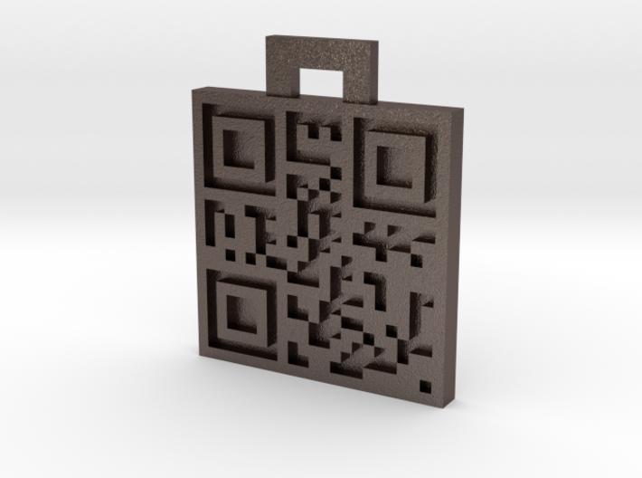 QRCode -- Luis Soto 3d printed