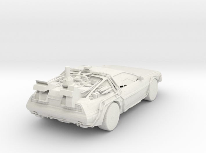 Delorean 3d printed