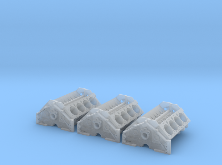 1 16 SBC High Detail Block 3 Pack 3d printed