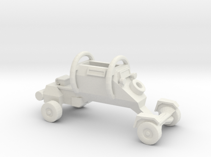 1:200 LEOPARD Security Vehicle 3d printed