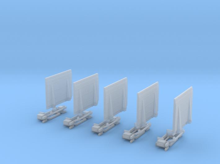 Ladebordwand Mit Keilaufsatzgroß, Mit Kinematik 5x 3d printed
