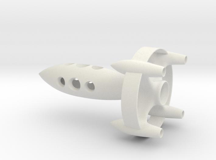The FutureBot Rocket 3d printed