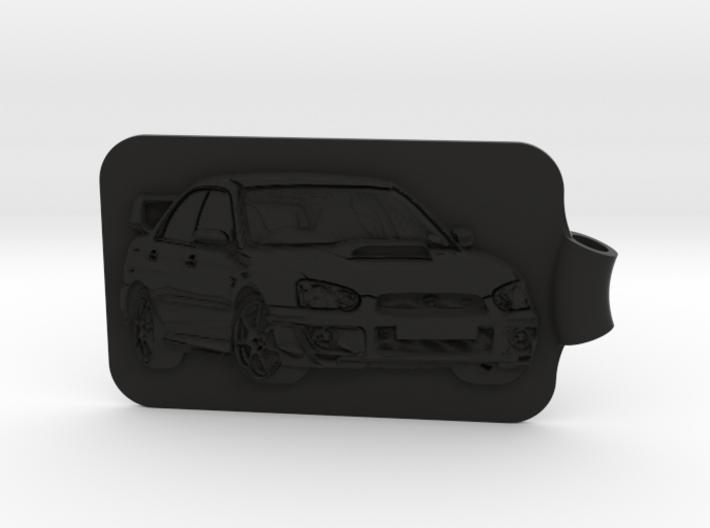 Subaru STI Key Fob 3d printed