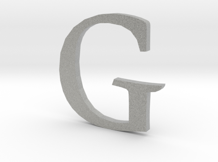 G (letters series) 3d printed