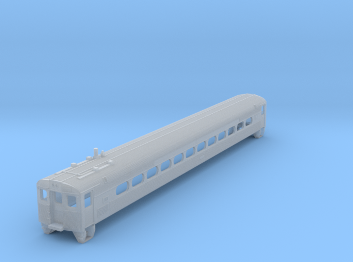 N Scale Budd Silverliner PRR Body Shell 3d printed