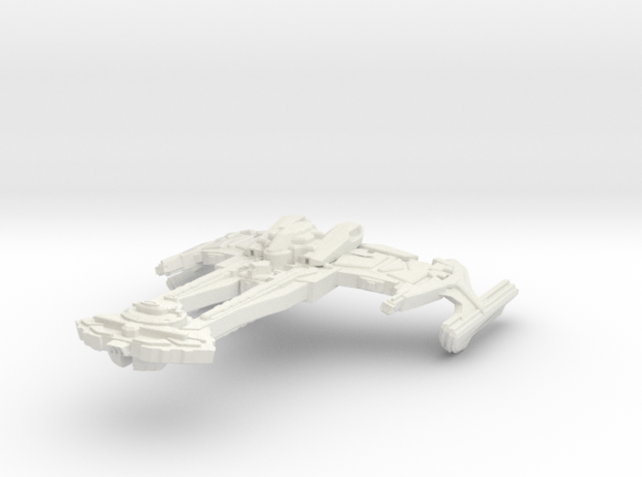 Wo'bortas Class Battleship 3d printed