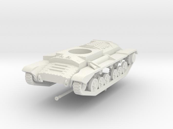 Vehicle- Valentine Tank MkXI (1/72) 3d printed