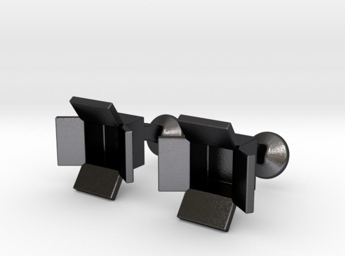 Box Cufflinks 3d printed