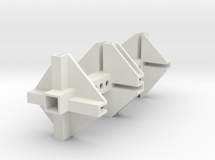TGD-9 Servomount UNI1 3d printed