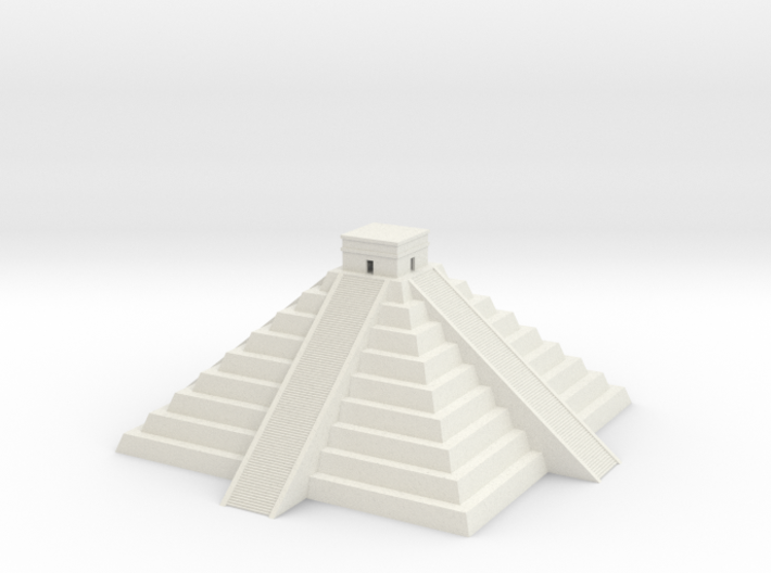 Mayan Pyramid temple 3d printed