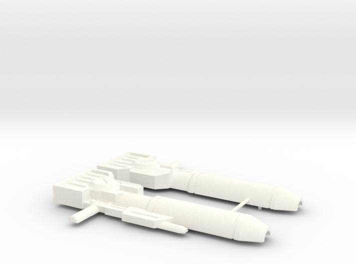 Wideside Gun 3d printed