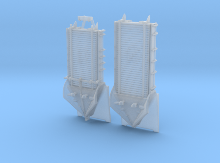 Z 1-220 French 2 Types Langeac Railway Snow Plough 3d printed