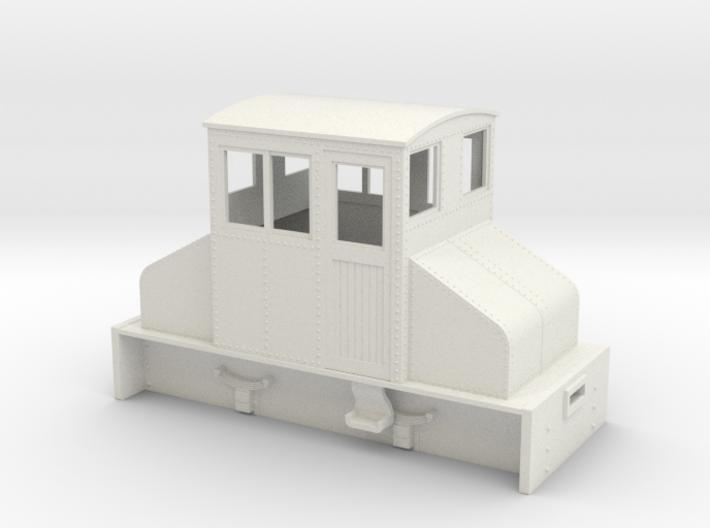 On18 Large Steeplecab loco 3d printed