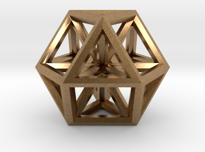 """Small Vector Equilibrium 1"""" 3d printed"""