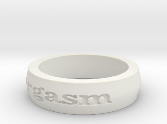 Women's Orgasm Ring Size 6.5 3d printed