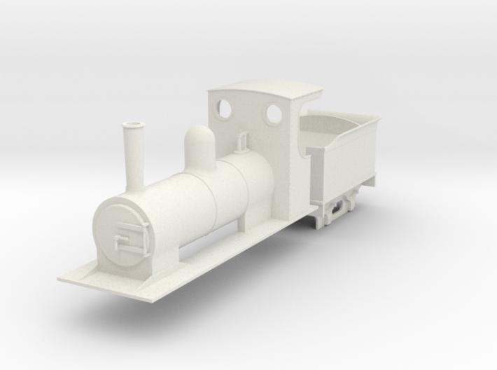 O9 estate loco and tender  3d printed