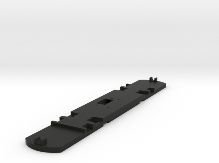 HO Scale Floor for 51' Standard Streetcar 3d printed