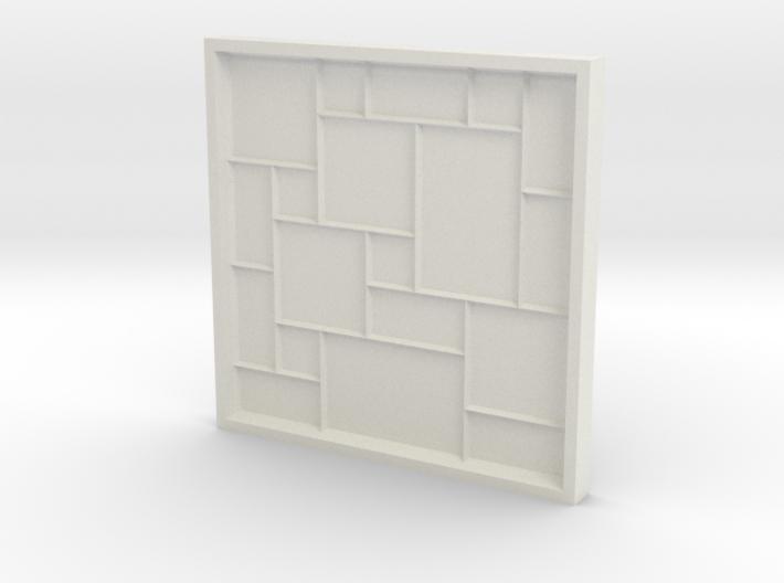 Versailles Pattern Mold 3d printed