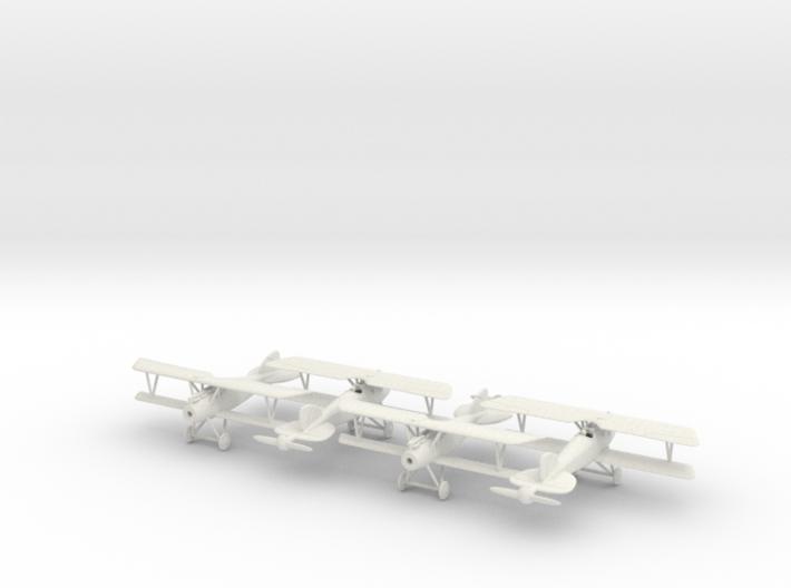 1/144 Albatros D.III x4 3d printed