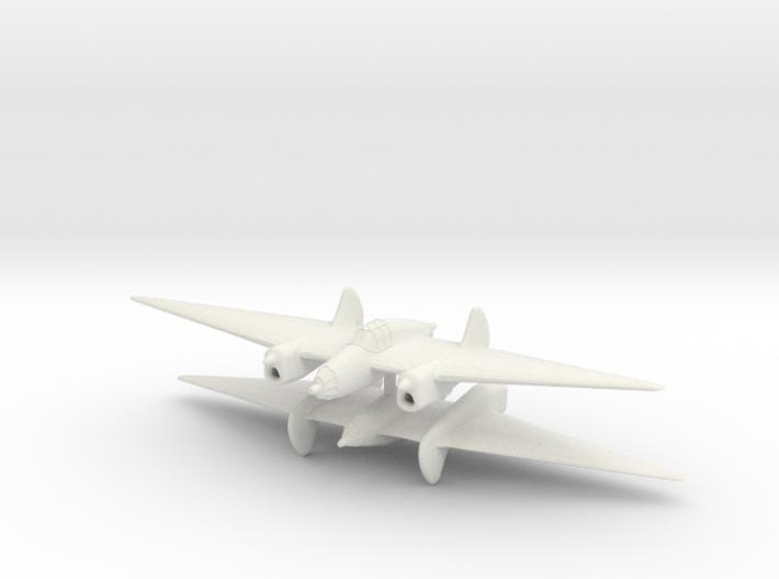 1/200 Fauvel 'Triplace de Combat' (x2) 3d printed