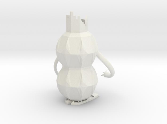 Robot Pencil Holder 3d printed