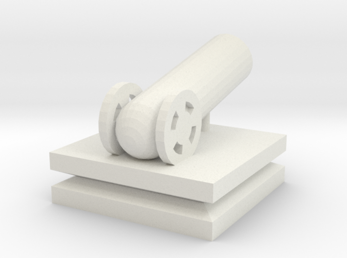 Cannon Small 3d printed