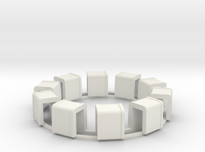 Ring Of Transformers 3d printed