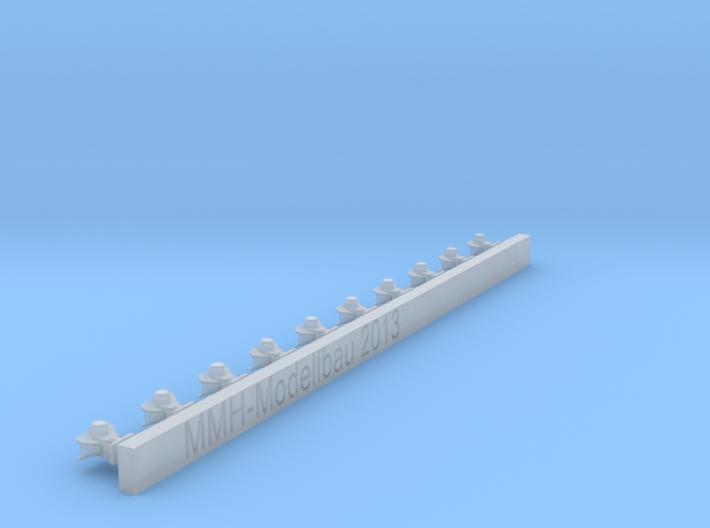 Rockingerkupplungen mit großem Maul (4mm breit) 3d printed