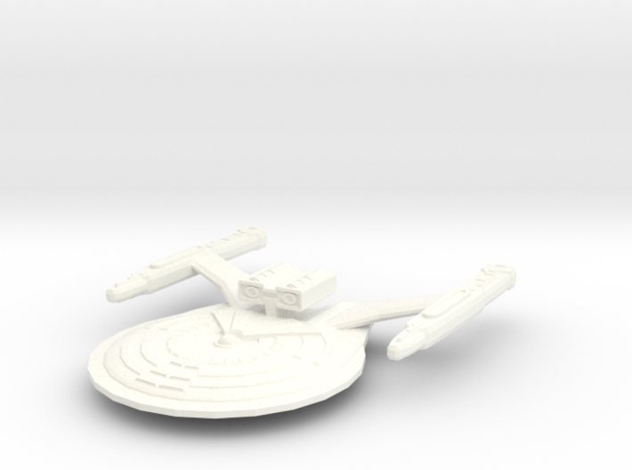 USS Earnest 3d printed