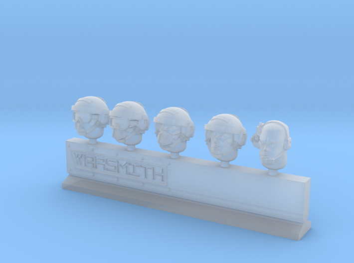 Empire Heads 3d printed