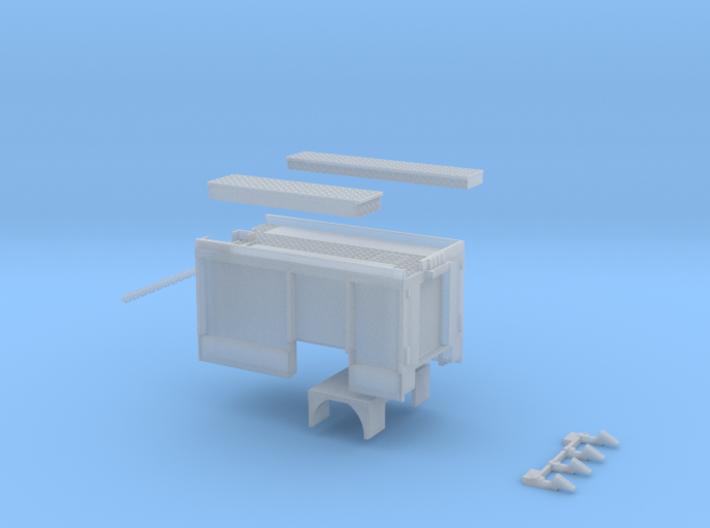 Aufbau HLF 20/16 DUS ohne Rollos 3d printed