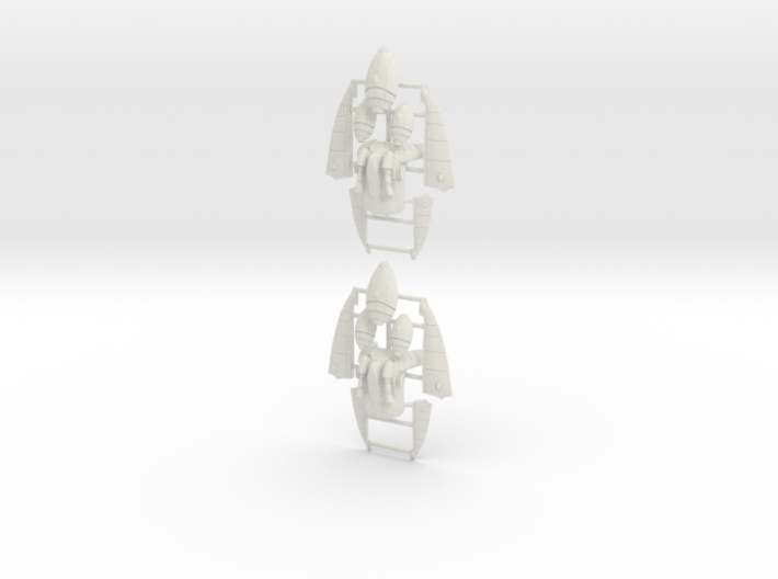 Eldar Corsair Jump Packs (set of 2) 3d printed