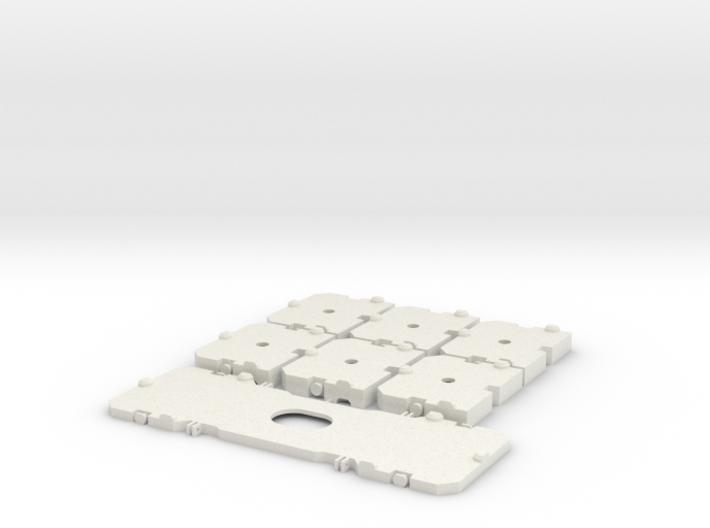 TC2800 Ballastplatten 3d printed