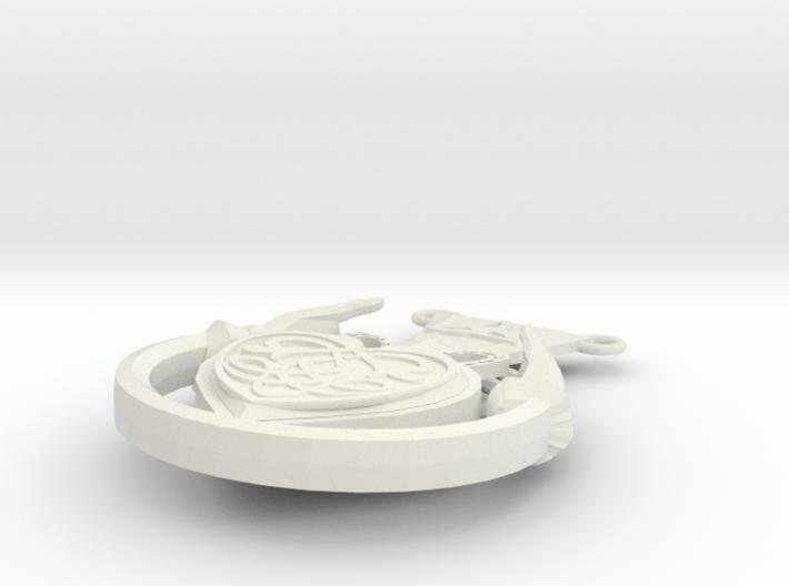Celtic Heart Charm2 3d printed