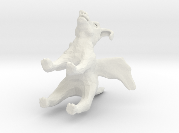 flyin pig 3d printed