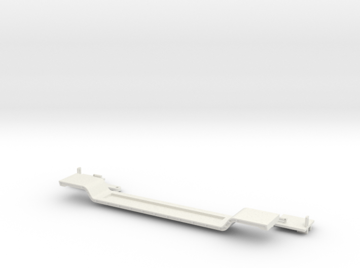 N 1:160 100ft 8 Axle Depressed Center Flat 3d printed