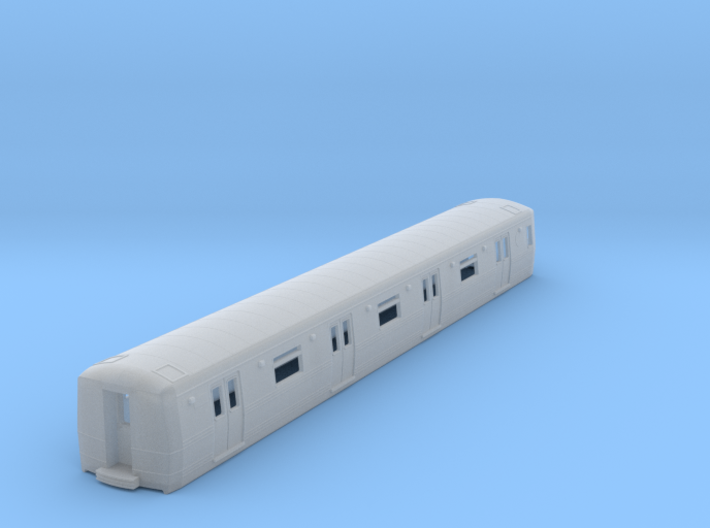 N Scale R44/R46 Subway A Unit Body 3d printed