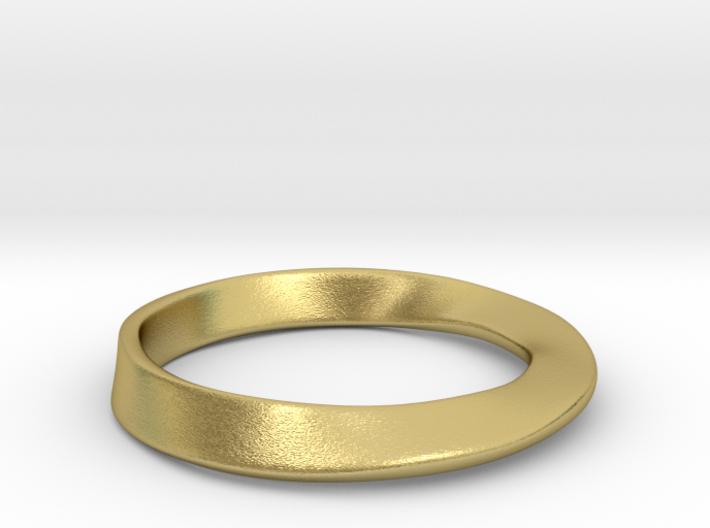Möbius Ring 3d printed