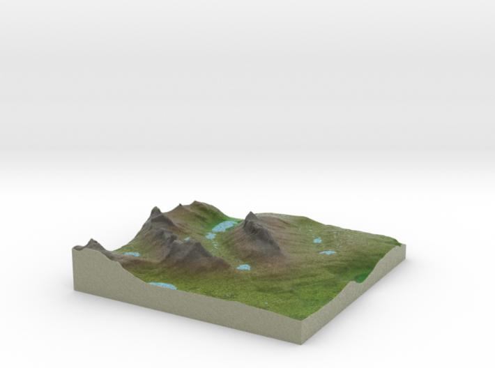 Terrafab generated model Fri Sep 27 2013 16:15:15 3d printed