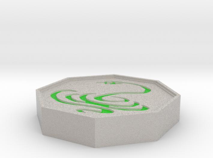 Snake Talisman 3d printed