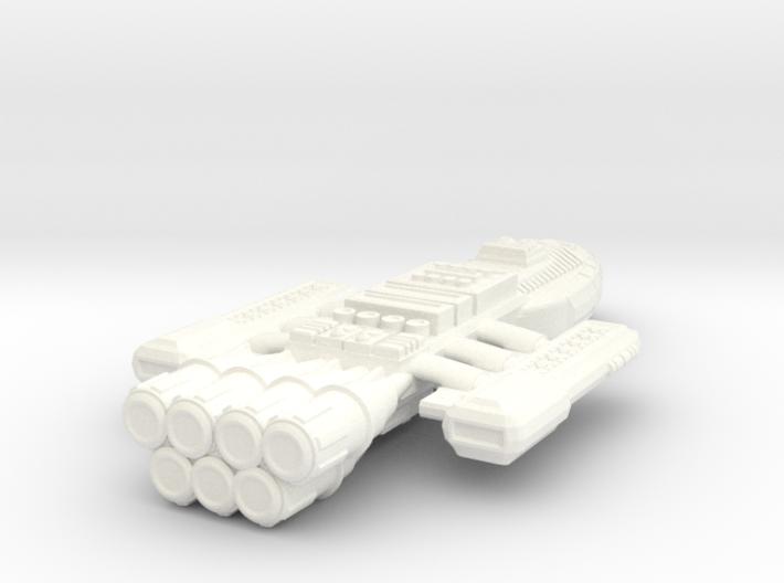 Battlestar Cronus 3d printed