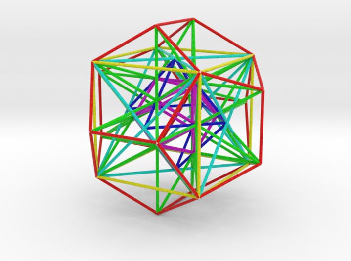 MorphoHedron11-800B 3d printed